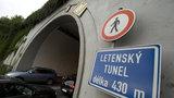 Na čtyři noci silničáři uzavřou Letenský tunel: Čeká ho údržba a mytí