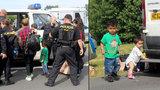 Běženci zadržení na D5 budou i s dětmi vráceni do Maďarska. Žádali tam o azyl