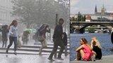 Pražané, vytáhněte deštníky! Obloha nad metropolí se zatáhne, zaprší a ochladí se