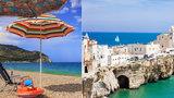 Italské Gargano láká turisty: Krásné pláže, dobré jídlo a vytoužený klid