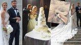 """Detaily svatby tenistky Cibulkové: Nevěsta oděná v milionech, na ženichovi """"šetřili"""""""