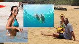 Celebrity u moře: Kam vyrazily Heidi Klum, Eva Longoria, Rihanna a další krásky na dovolenou?