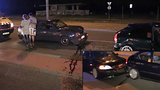Na tuningovém srazu 500 aut v Praze se bouralo, dívka skončila v nemocnici