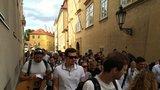 Za pouliční umění! Stovky lidí pochodovaly za busking: S kapelou Zrní v čele