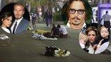 Celebrity utíkají před teroristy: Depp, Beckhamovi i Jolie prodávají sídla ve Francii