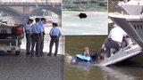 Hrůzný nález u Mánesu! Potápěči z Vltavy vytáhli mrtvolu