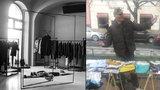 Bezdomovec čeká na práci: Aktivisté stále nemají prostor na provozování obchodu, kde bude Václav prodávat