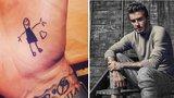 Johnny Depp, David Beckham a další slavní, kteří mají tetování kvůli dětem