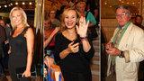 Narozeninový koncert Hany Zagorové (70): Přišla Absolonová, Borhyová i exmanžel Harapes