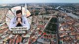 Neobvyklý pohled na Prahu: Jako byste se dívali na odlišná města. Jak vznikla?