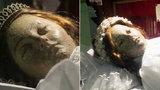 Video, z kterého běhá mráz po zádech: Třísetletá mrtvola dětské světice otevřela oči!