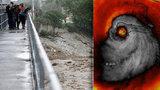 Děsivý hurikán Matthew: Zabil už 11 lidí, z výšky vypadá jako ďábel