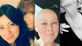 Šokující video Brendy z Beverly Hills: Utrpení na chemoterapii, fitko a kolaps do náruče mámy