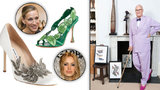 Výstava Manolo Blahnika na Kampě se blíží: Ukáže v Praze 500 párů luxusních střevíčků