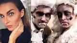 Jak si slavní užívali Halloween: Navlékli se do kostýmů vězňů a vraždících bestií