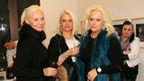 Blonďaté trio Štik opět v akci: Ornellu nahradila máma Štiková sestrou Evou