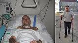 Jaroslav (62) porazil smrtící legionellu! Byl v umělém spánku a lékaři mu nedávali šanci