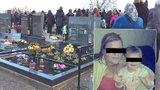 Pohřeb malé Elišky: Máma, která svalovala smrt na očkování, nepřišla