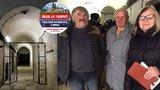 Sourozenci hledali celu, kde komunisti věznili tátu: Jediná stopa bylo vyryté jméno