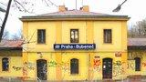 Nádraží Bubeneč znovu ožije: Místní si zde přáli kavárnu a kulturu, otevřít by mohlo příští rok