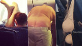 Divnolidi v letadle: Z těchto nechutných pasažérů se vám udělá špatně!