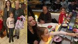 Petr Janda vyvedl nejmladší dcery a sexy manželku: Pochutnali si na sushi