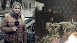 Pohřeb reportérky Leony (†32): Dcerky se s maminkou nepřišly rozloučit!