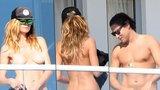 Topmodelka Heidi Klum (43): Na dovolené nahoře bez a se zajíčkem!
