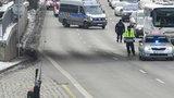 Manévry na Argentinské: Opuštěný kufr museli zkontrolovat pyrotechnici