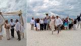 Exkluzivní foto ze svatby Kousalové a Zedníčka: Oddával je Matuška! Nevěsta promluvila