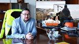Odtud vládne šéf Národního muzea: Z kanceláře má luxusní výhled na Prahu