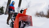 Sněhové frézy: Narovnejte ztuhlá záda!