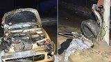 Mladík (22) zemřel při nehodě, další dva lidé (19 a 22) jsou zranění. Řidič utekl