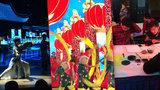 Číňané v Praze přivítali nový rok. Předvedli velkolepou show, učili i Čechy psát