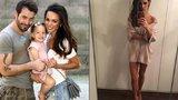 Ultraštíhlá manželka Noida Bárty dál hubne: Ukázala nohy jako párátka