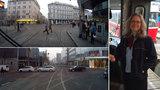 """Tramvajáci kvůli lidem i autům trpí. """"A je to čím dál horší,"""" říká řidička Zdeňka"""