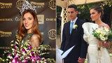 Tajná svatba miss Bezděkové (23): Přítele Martina si vzala hned dvakrát!