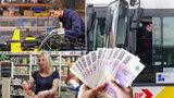 Chceme minimální mzdu jako Slováci, dožadují se odbory. Rozhodne se do léta
