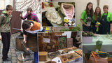 Štukatér, floristka nebo kovář: V Novoměstské radnici ožila řemesla
