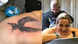 Marešova ex: Nové tetování přes celá záda! Co na novou kérku říkáte vy?