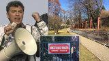 Přejmenují náměstí u ruské ambasády po odpůrci Kremlu? Za Němcova bojují tisíce lidí