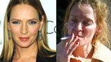 Smutná proměna herečky Umy Thurman: Z krásky je rozklepaná troska!