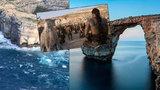 Malta přišla o Azurové okno! Bouře strhla skalní oblouk známý ze Souboje titánů či Hry o trůny