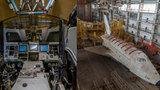Místo úspěchu katastrofa: Opuštěný sovětský raketoplán chátrá na Bajkonuru, ve vesmíru nikdy nebyl