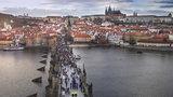 Aprílové počasí pokračuje. Po teplém pondělku bude v Praze zase zima