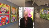 Do Prahy dorazil synovec Andy Warhola James (61): Co se od něj naučil?