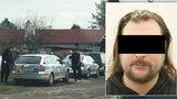 Policie zadržela střelce z Čelákovic: Vyhrožoval pistolí přítelkyni i policistům