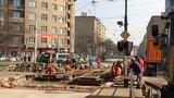 Měsíc a půl komplikací v Libni: Kvůli rekonstrukci tu přeruší provoz tramvají