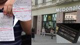 Brněnský kurz dolaru je 15 Kč! McDonald's na náměstí Svobody má vlastní pravidla