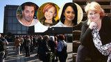 Pohřeb Věry Špinarové bez hvězd: Kdo nemohl přijít a kdo jenom nechtěl?